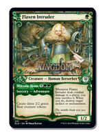 Flaxen Intruder - Showcase Frame - Throne of Eldraine - NM - English - MTG