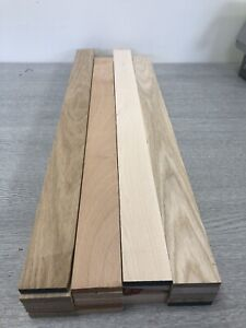 Oak,ash,maple,st.beech timber offcuts 5 Length Of Each@ 48x10x600mm long