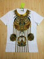 Men casual t shirt Versace short sleeve cotton