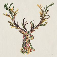 Helen Ahpornsiri - Forest Stag -Canvas READY TO HANG 60 x 60cm