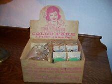 Bartlett Collins Color Flare 7 Piece Juice Set in Original Box!