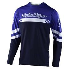 Troy Lee Designs Sprint Long Sleeve Jersey Factory Royal Blue / White Large