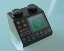 LEGO 3039pb041 @@ Slope 45 2 x 2 Radar Disk Slot Pattern @@ 7663 7751 7945 8038