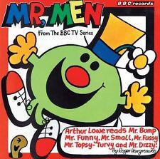 Mr Men (Vintage Beeb) New Audio CD Book Roger Hargreaves, Arthur Lowe