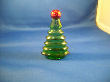 Avon Touch Of Christmas - Tree Decanter 1975