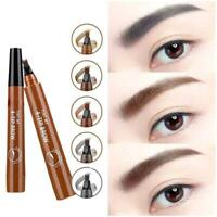 4 Points Eyebrow Pen  Waterproof makeup tools-Free shipping