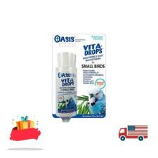 Oasis #80257 Vita Drops for Small Birds 2- ounce liquid