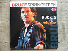 Bruce Springsteen ‎– Rockin' Live From Italy 1993 - 2 LP Mint