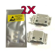 2 X New Micro USB Charging Port Dock Charger For Samsung Galaxy SL i9003 USA