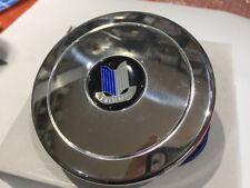 Triumph Polished Horn Push Billet Alloy Inc Triumph  Logo Fits 9 Hole Type Boss