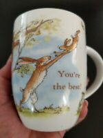 Coffee Tea Mug Cup - Konitz - YOU'RE THE BEST Gift for Daddy Bunny Love Bunnies