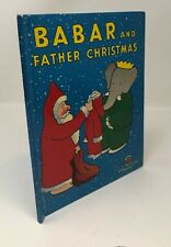 BABAR and FATHER CHRISTMAS Vintage Wonder book