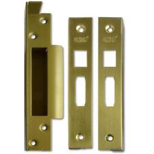 Union J2200REB Rebate To Suit StrongBOLT Sashlocks. - 25mm Brass