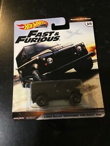 Hot Wheels - Fast & Furious Land Rover Defender 110 Hard Top