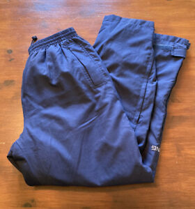 """Mens Blue Ping Waterproof Golf Trousers, Size Large 31""""L, Excellent Condition"""