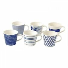 New Royal Doulton Pacific Set Of 6 Accent Mugs (Mixed Patterns)