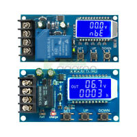 10A/30A 6V-60V Lithium Battery Charge NC Control Module Protection Board LCD