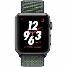 APPLE Watch Nike+ 42mm Alu Grau GPS Cellular Nike Sport Loop Midnight Fog