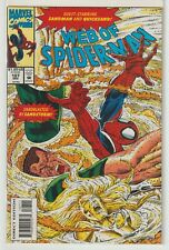 Marvel Web Of Spiderman (1985) Issues 107-111 Sandman, The Lizard Vf