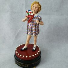 Danbury Mint Singing Figurine Collection Shirley Temple Musical Figure 1994