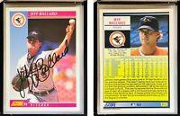 Jeff Ballard Signed 1992 Score #129 Card Baltimore Orioles Auto Autograph