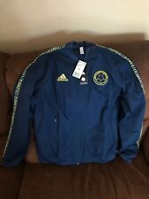 ADIDAS Colombia National Team  Soccer Anthem Jacket NWT Size M Men