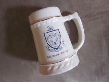 VINTAGE GILT CAZENOVIA COLLEGE mug made in USA