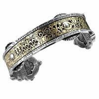 Alchemy Gothic Spectrostatic Nocturnium Pewter Bracelet - Made in England