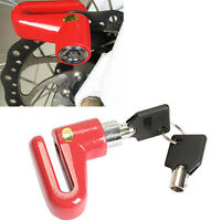 Anti-theft Disk Brake Rotor Lock for Scooter Bike Bicycle Motorcycle