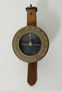 WWII US MILITARY SUPERIOR MAGNETO US ARMY ENGINEERS WRIST COMPASS
