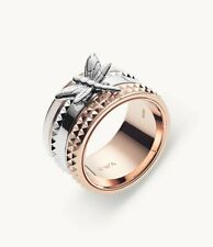 Emporio Armani Women's Two-tone Stainless Steel Ring