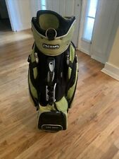 Ogio golf stand bag 8 Compartment Green And Black. No Leg Stand With Bag.
