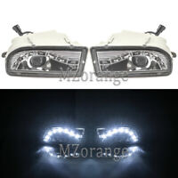 Pair LED Daytime Running Fog Light Lamp  For Toyota Land Cruiser FJ100 1998-2007