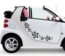 stickers adesivi adesivo tuning fiori farfallina farfalle auto smart fiat a0058