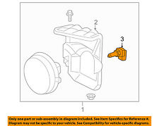 GM OEM-Foglight Fog Light Bulb 19257056
