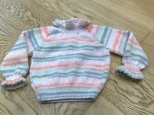 Hand Knitted Jumper 9-12 months new