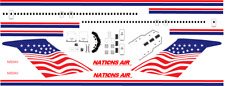 1/144 Nations Air 727-200 Decals