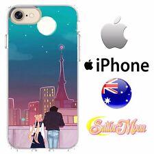 iPhone Case Cover Silicone Sailor Moon Anime Romantic Date Paris  FreshPrintAU