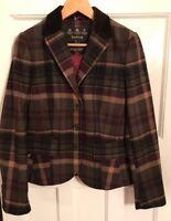 Barbour Ladies Tailored Check Blazer /Jacket UK10 / EU36(New)