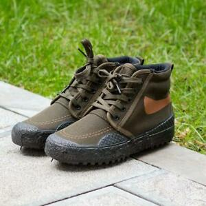 Men's Outdoor Hiking Camping Climbing labor protection camo Ankle Boots Shoes