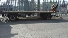 Artic 20ft Container Trailer with Twist Locks