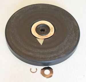 Garrard Laboratory Series Type A Turntable Platter and C-clip, May Fit Others