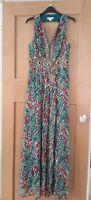 Immaculate silk Monsoon evening dress size 10