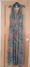 Vestido De Noche Monzón Inmaculada Seda Talla 10