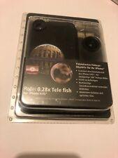 😍 coque protection téléphone iphone 4 4s + objectif fish eye 180º apple