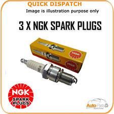 3 X NGK SPARK PLUGS FOR VAUXHALL/OPEL AGILA 1.0 2008- IKR6G11