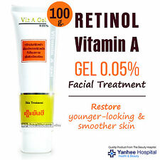 100g RETINOL Vitamin A GEL 0.05% Facial Skin Treatment Anti Aging Wrinkles Acne