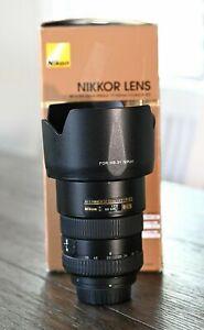 NIKON AF-S NIKKOR 17-55MM F2.8 G ED DX LENS W/THE BOX