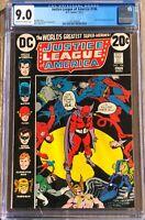 Justice League of America #106 DC (1973) CGC 9.0