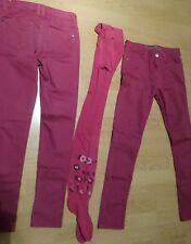 COM9 LOT de 2 pantalons 12 ANS + collant fucshia marque PEPPERTS 12 ANS
